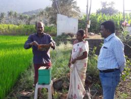 ASCI - Bee keeping - Beneficiary started Apiculture unit